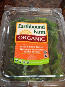 Pre-washed Organic Baby Kales