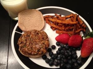 Veggie Burgers MyPlate