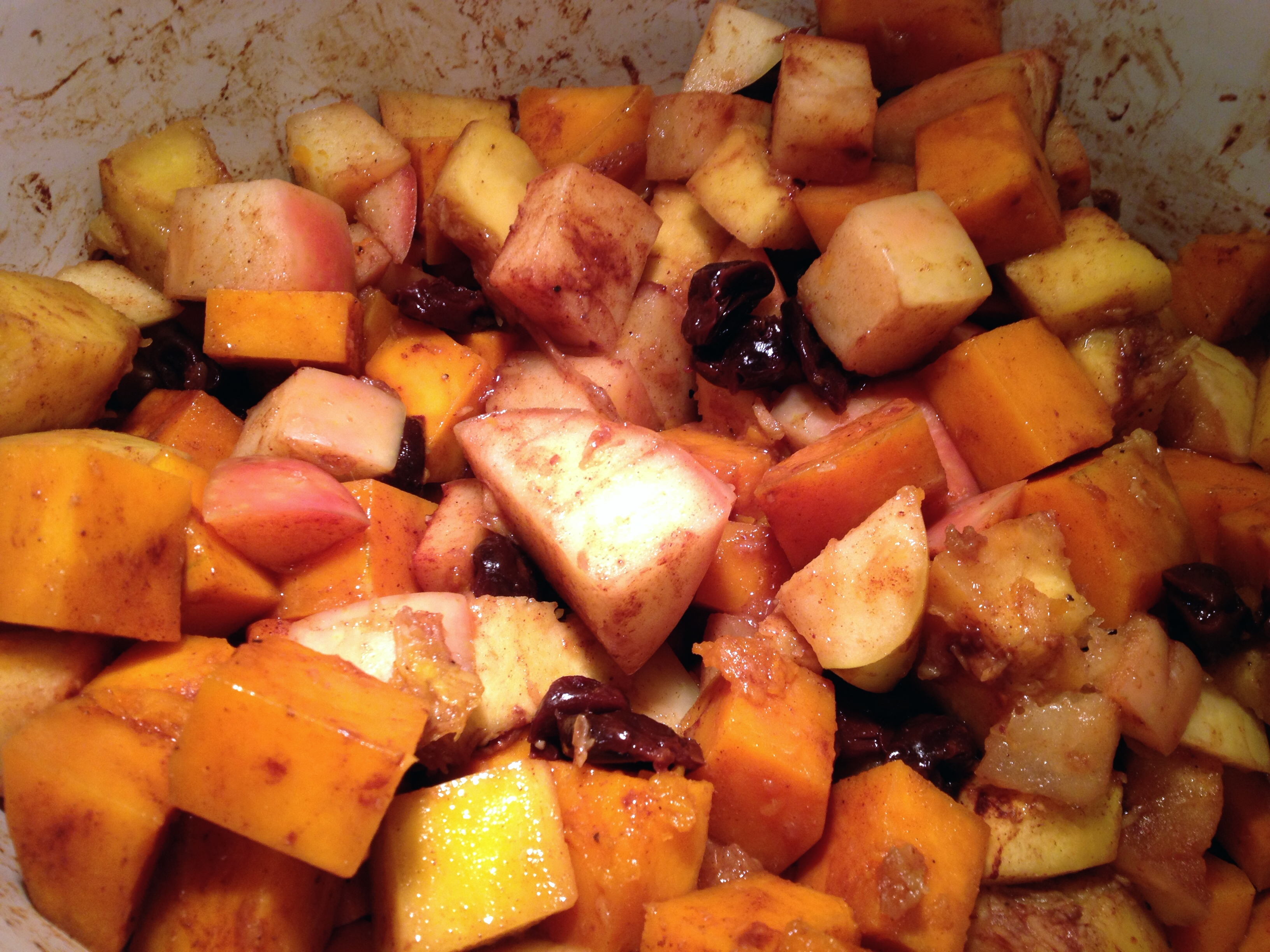 Slow Cooker Squash with Apples | This RD Eats!