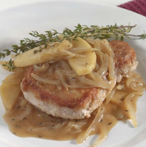 Pork-Chops-with-Apples-Thyme