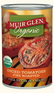 muir glen fire roasted tomatoes