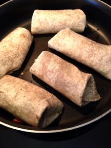 Sweet Potato Black Bean Burritos