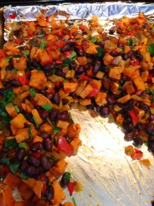 Sweet Potato Black Bean Burritos3