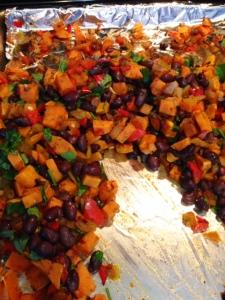 Sweet Potato Black Bean Burritos3