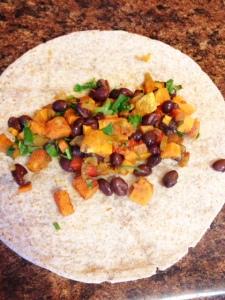 Sweet Potato Black Bean Burritos4