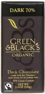 Green and Blacks Dark Chocolate