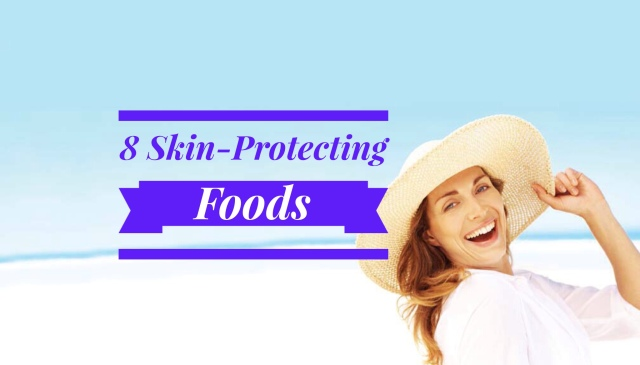 Skin protecting foods